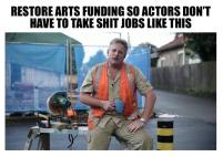 arts bad lib ad tradie
