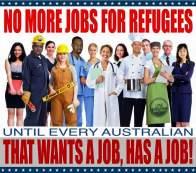 jobs refugees