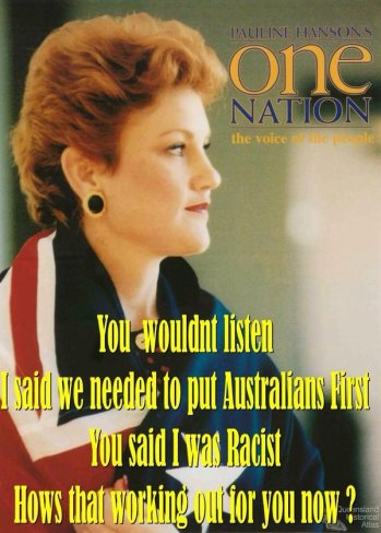 pauline. you wouldn't listen