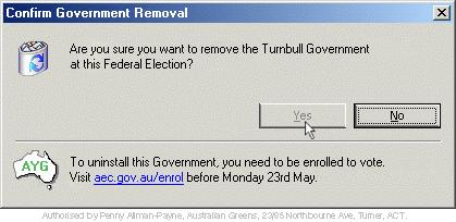 remove gov bin