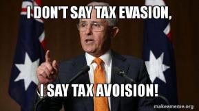 tax avoision