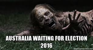 waiting for election