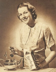 1930s Bushells Tea advertisement  From The Australian Women's Weekly, 21 January 1939. jpg