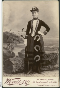 State Library SA B-7723-80 Effie Conigrave dressed as good luck 1887